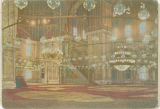 [Interior of the Mosque of Mohammed Ali]