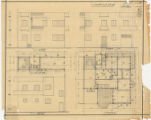 1st floor plan, fron, back and...