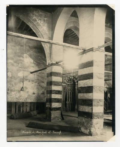 "<bdi class=""metadata-value"">Main iwan and mihrab of the mausoleum of Mandjak al-Youssefi</bdi>"