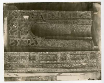 "<bdi class=""metadata-value"">Portable mihrab of al-Sayyida Nifissa</bdi>"