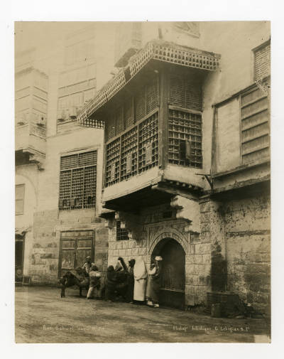 "<bdi class=""metadata-value"">A house adjacent to Bayt al-Razzaz on Bab al-Wazir Street</bdi>"
