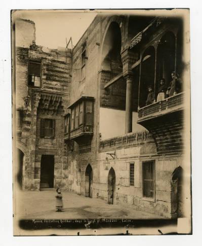 """<bdi class=""""metadata-value"""">Courtyard and maq'ad of al-Sultan Qaitbai's house (aka Bayt al-Razzaz)</bdi>"""