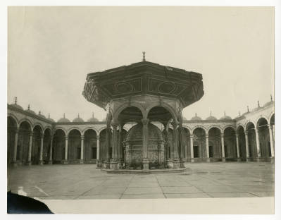 """<bdi class=""""metadata-value"""">Ablution fountain and courtyard of the Mosque of Muhammad Ali at the Citadel</bdi>"""