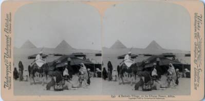 """<bdi class=""""metadata-value"""">A Bedouin Village, on the Libyan Desert, Africa.</bdi>"""